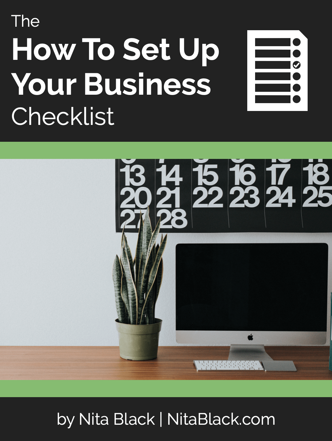 How to Set Up Your Business Checklist Cover